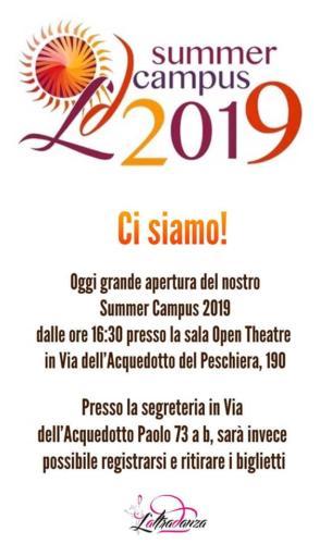 CAMPUS ESTIVO 2019!